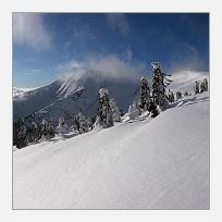 Zimní panorama Kotle